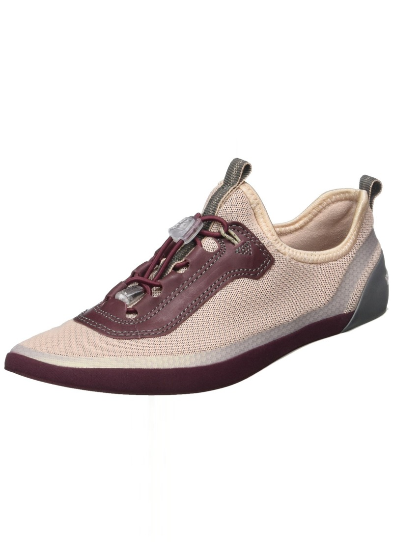 ECCO Women's Women's Sense Light Toggle Fashion Sneaker Rose Dust Bordeaux 37 EU/