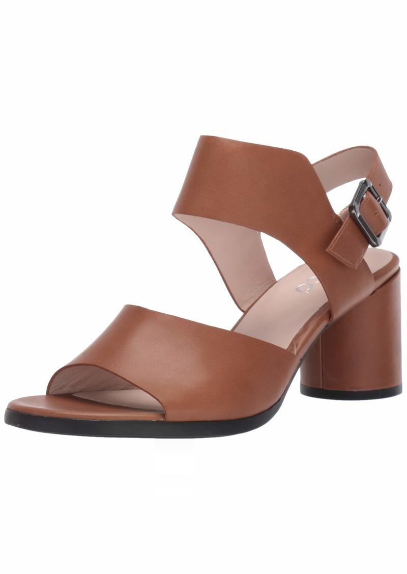 ECCO Women's Women's Shape 65 Block Strap Heeled Sandal  39 M EU ( US)