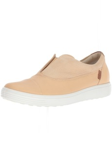 ECCO Women's Women's Soft 7 Slip-on Sneaker Powder/Powder ii 38 M EU ( US)
