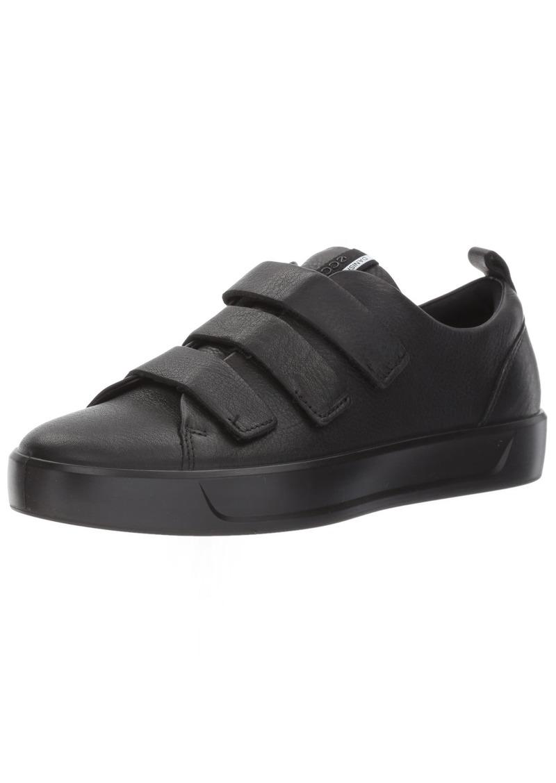ECCO Women's Women's Soft 8 Strap Fashion Sneaker Black 41 EU /  US