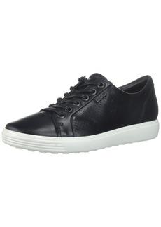 ECCO Women's Women's Soft Perforated Fashion Sneaker Dark Black 40 EU/ M US