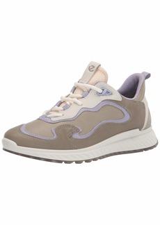 ECCO Women's ST.1 Trend Tie Sneaker Multicolor VETIVER