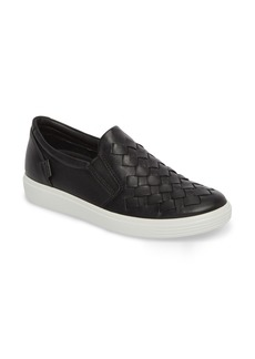 ECCO Soft 7 Woven Slip-On Sneaker (Women)