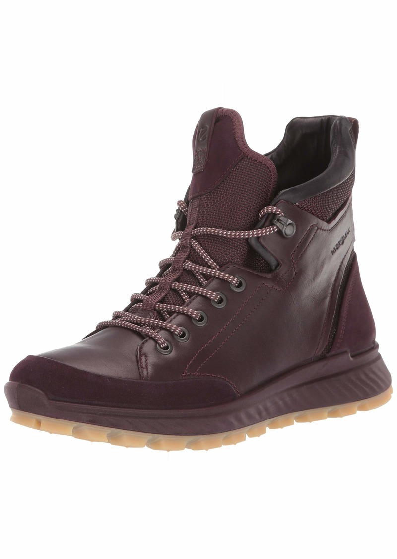 Ecco Exostrike HYDROMAX Ankle Boot - Outdoor Lifestyle Hiking fig/fig 37 M EU (6-6.5 US)