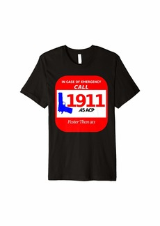 Echo 2nd Amendment Emergency Call 1911 Pro Self Defense Shirt