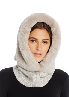Echo Faux-Fur Trim Balaclava