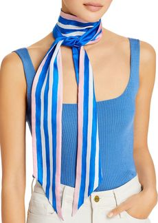 Echo Painted Stripe Silk Scarf