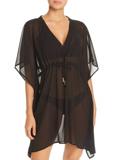 Echo Solid Classic Butterfly Swim Cover-Up