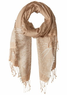 Echo Women's Seeing Spots Tonal Wrap Scarf oatmeal ONE SIZE