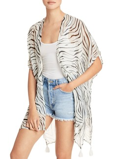 Echo Zebra Duster Cover Up