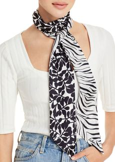 Echo Zebra Vines Silk Scarf