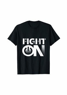 Echo Fight On -The Limit Does Not exist | Motivate T-Shirt
