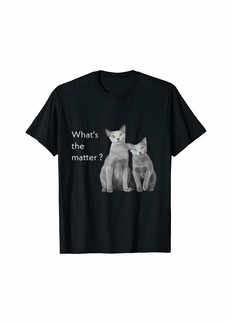 Echo What's The Matter ? | Let's Celebrate Our Cats T-Shirt