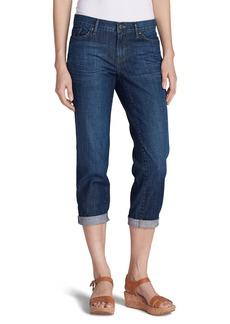 Eddie Bauer Boyfriend Cropped Jeans