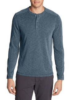 Eddie Bauer Contour Performance Long-Sleeve Henley