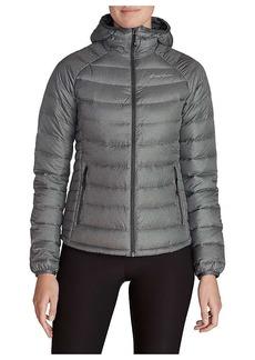 Eddie Bauer First Ascent Women's Downlight Stormdown Hooded Jacket