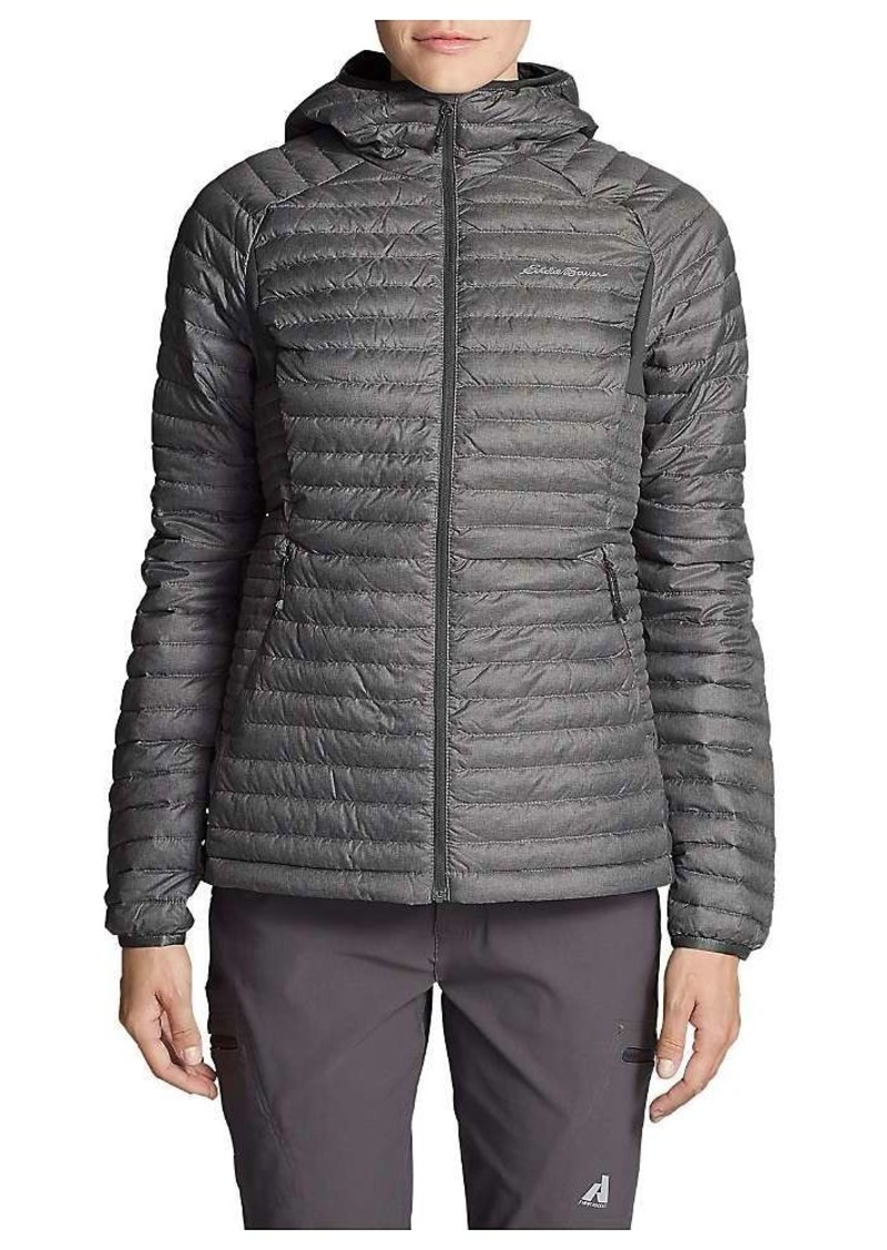 84ef0fe96 First Ascent Women's Microtherm 2.0 Stormdown Hooded Jacket