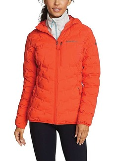 Eddie Bauer First Ascent Women's Microtherm Freefuse Stretch Down Hooded Jacket