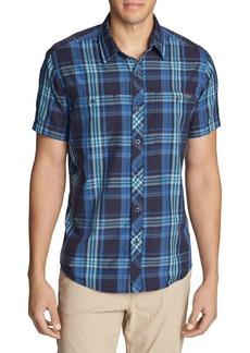 Eddie Bauer Greenpoint Short-Sleeve Button-Down Shirt