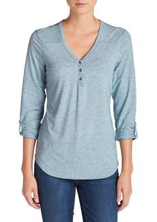 Eddie Bauer Mercer Knit Henley Shirt