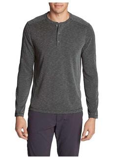 Eddie Bauer Travex Men's Contour Long Sleeve Henley Shirt