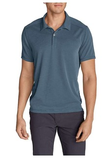 Eddie Bauer Travex Men's Contour Performance Slub Polo Shirt