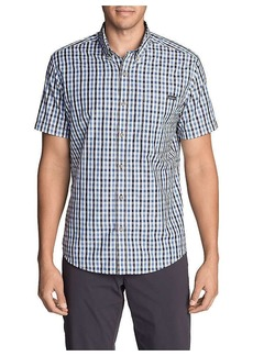 Eddie Bauer Travex Men's On the Go Short Sleeve Poplin Shirt