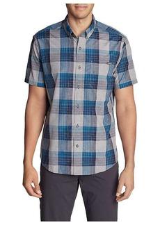 Eddie Bauer Travex Men's On the Go Short Sleeve Poplin Shirt