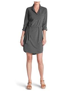 Eddie Bauer Travex Women's Departure Long Sleeve Shirt Dress