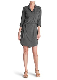 Eddie Bauer Travex Women's Departure Long Sleeve Shirt Dress