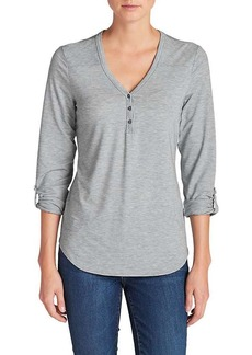 Eddie Bauer Travex Women's Mercer Knit Henley Shirt