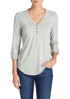 Eddie Bauer Travex Women's Mercer Knit Henley Shirt
