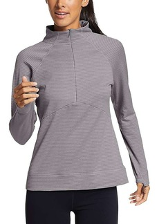 Eddie Bauer Travex Women's On The Trail LS Raglan Quarter Zip