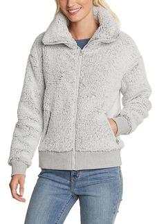 Eddie Bauer Women's Fireside Plush LS Full Zip Teddy Jacket