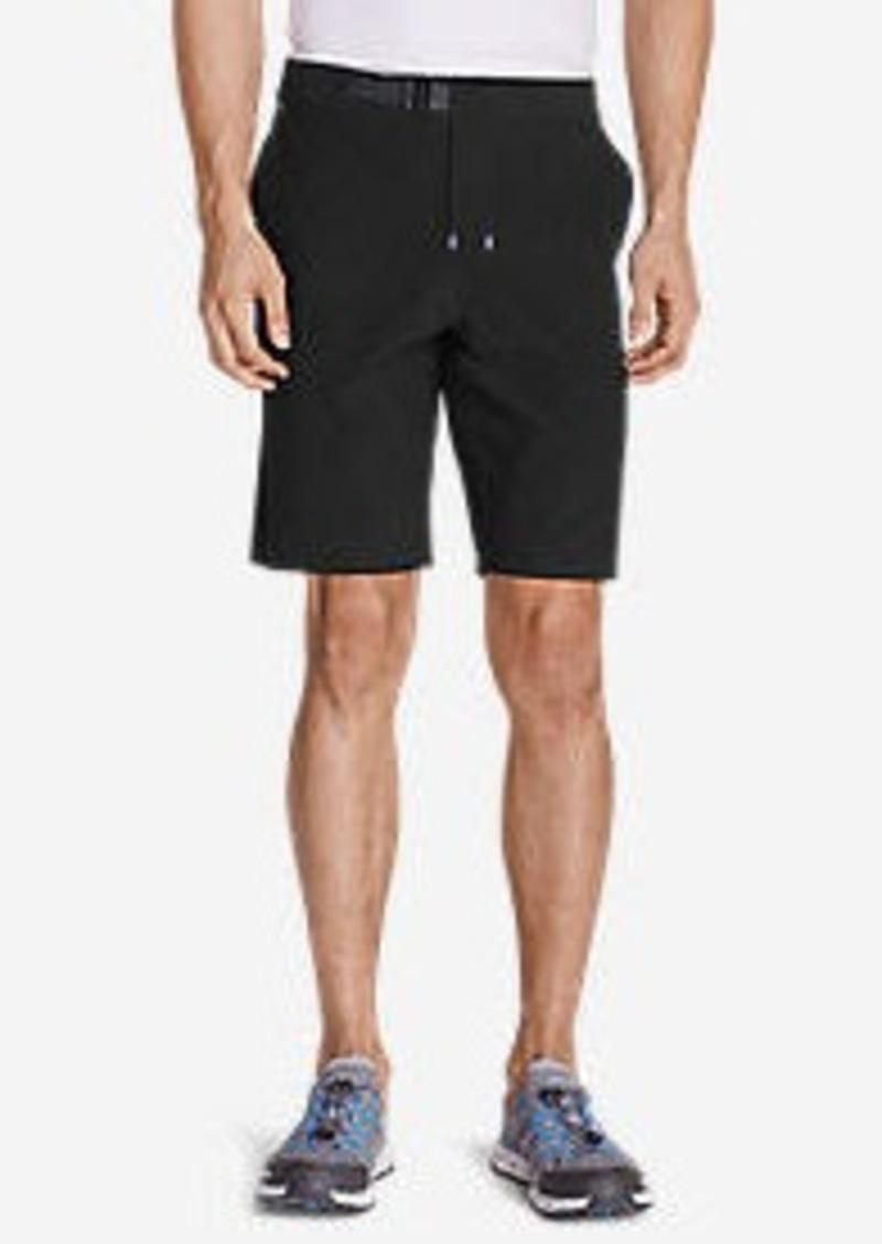 """Eddie Bauer Men's Amphib Plasma 10"""" Belted Shorts"""