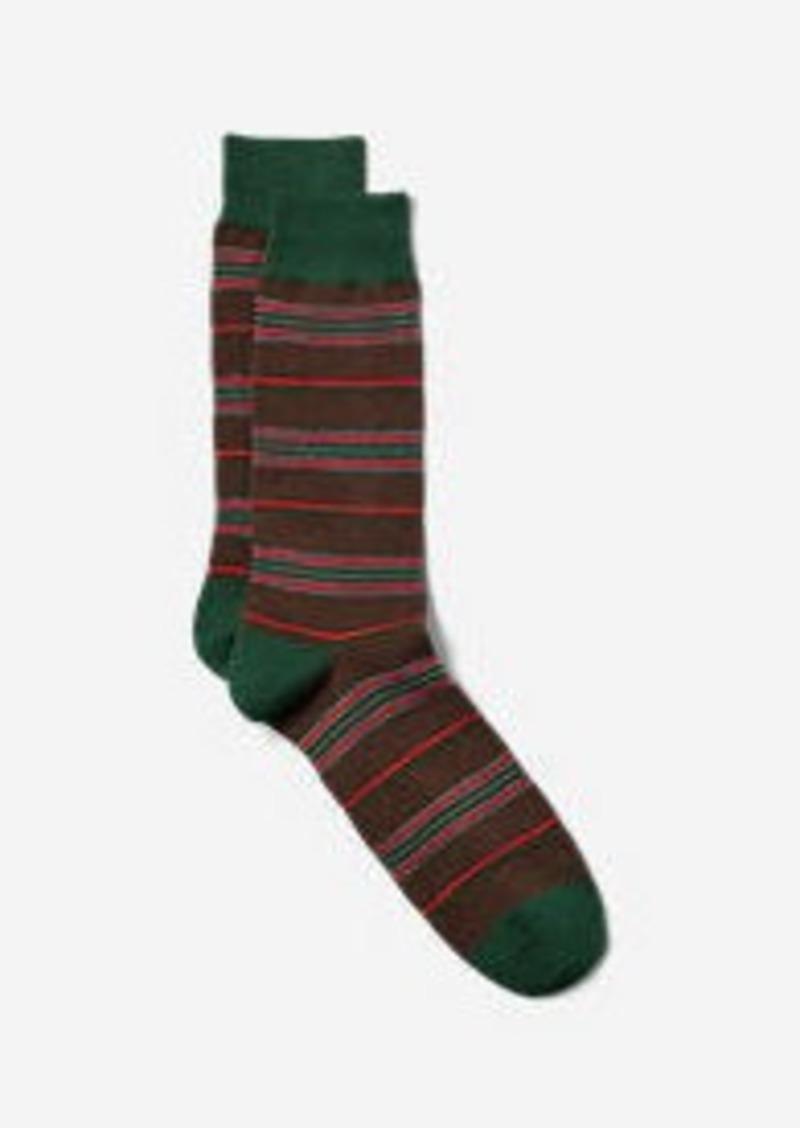 Eddie Bauer Men's Crew Socks - Pattern