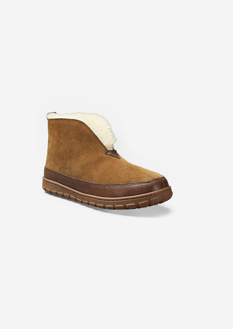 2a7cc7f8c4c Men's Shearling Boot Slippers