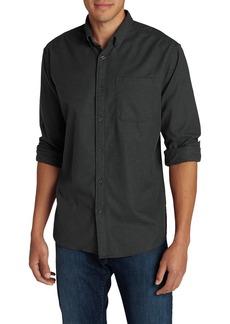 Eddie Bauer Men's Eddie's Favorite Flannel Classic Fit Shirt - Solid