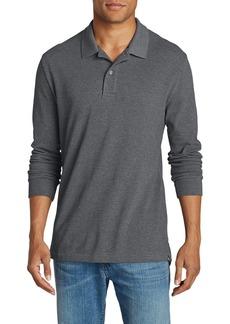Eddie Bauer Men's Field Long-Sleeve Polo Shirt