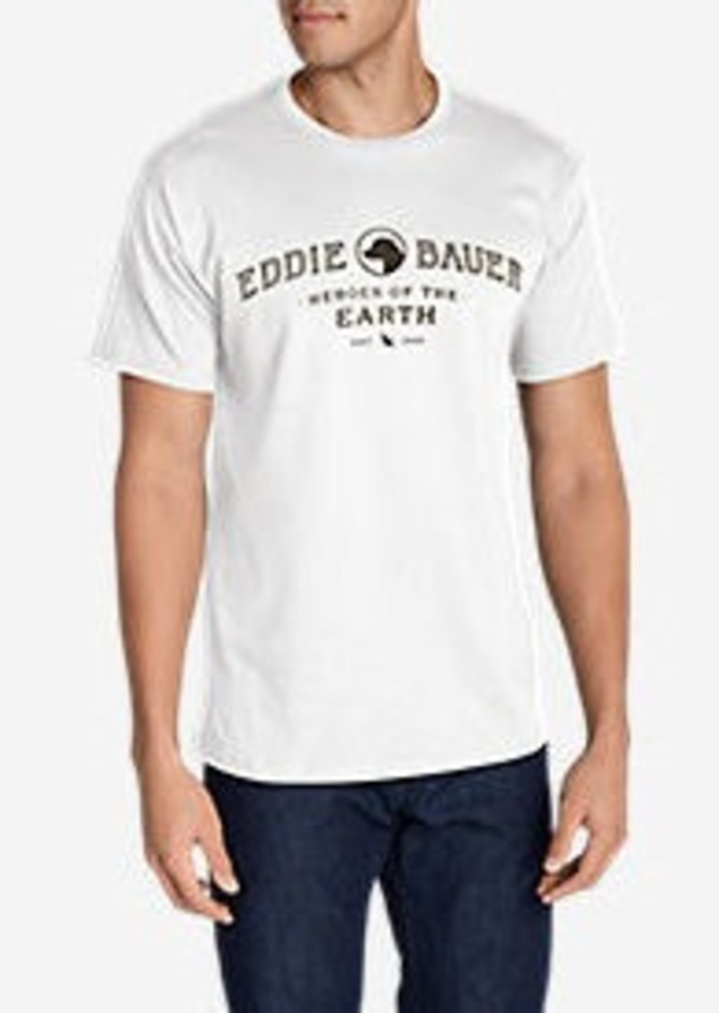 Eddie Bauer Men's Graphic T-Shirt - Eddie's Labs