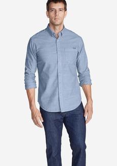 Eddie Bauer Men's Grifton Long-Sleeve Shirt - Solid