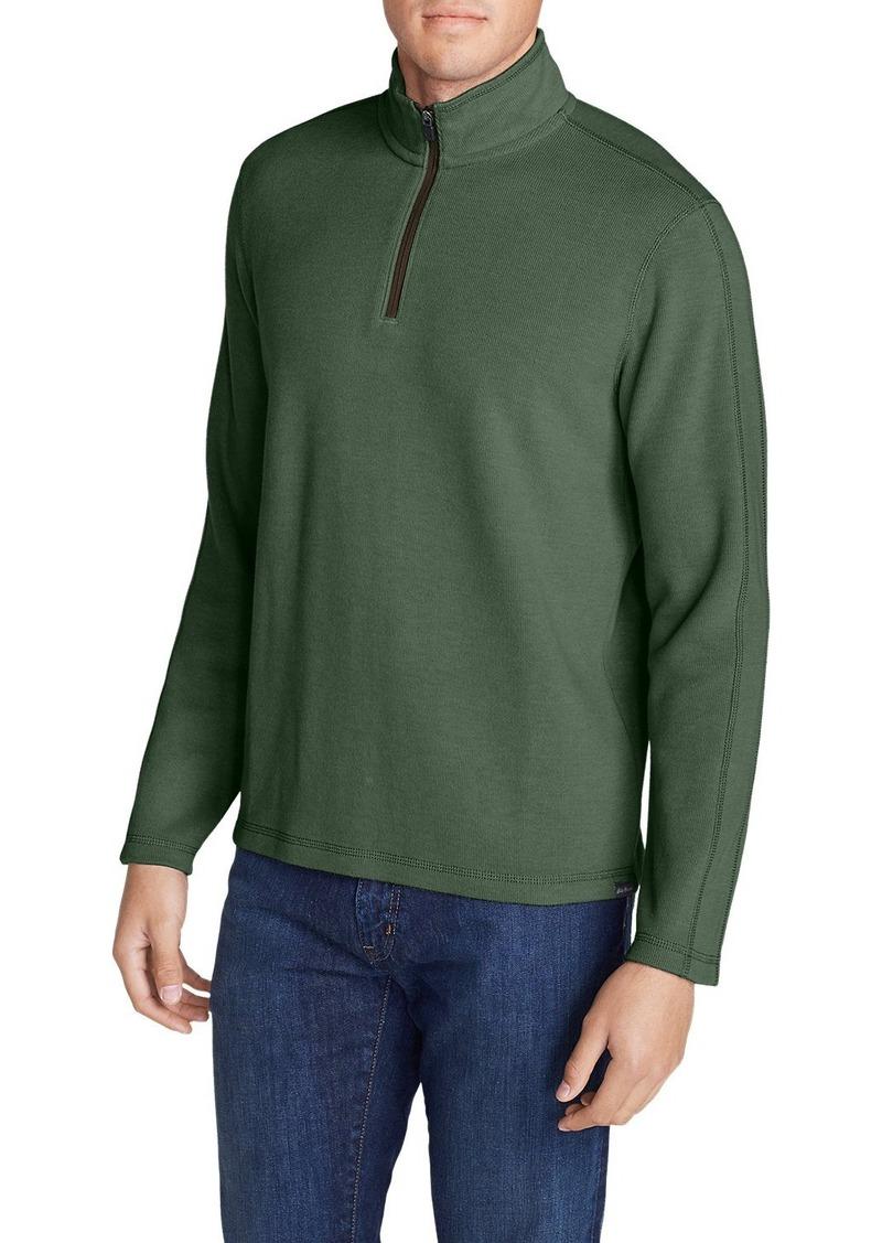 Eddie Bauer Men's Kachess 1/4-Zip Mock Pullover