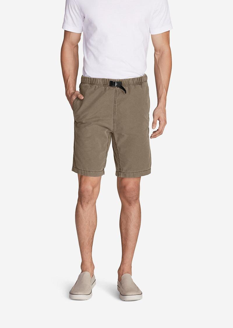 "Eddie Bauer Men's Kebili 9"" Belted Shorts"