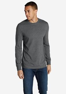 Eddie Bauer Men's Legend Wash Long-Sleeve T-Shirt - Slim Fit
