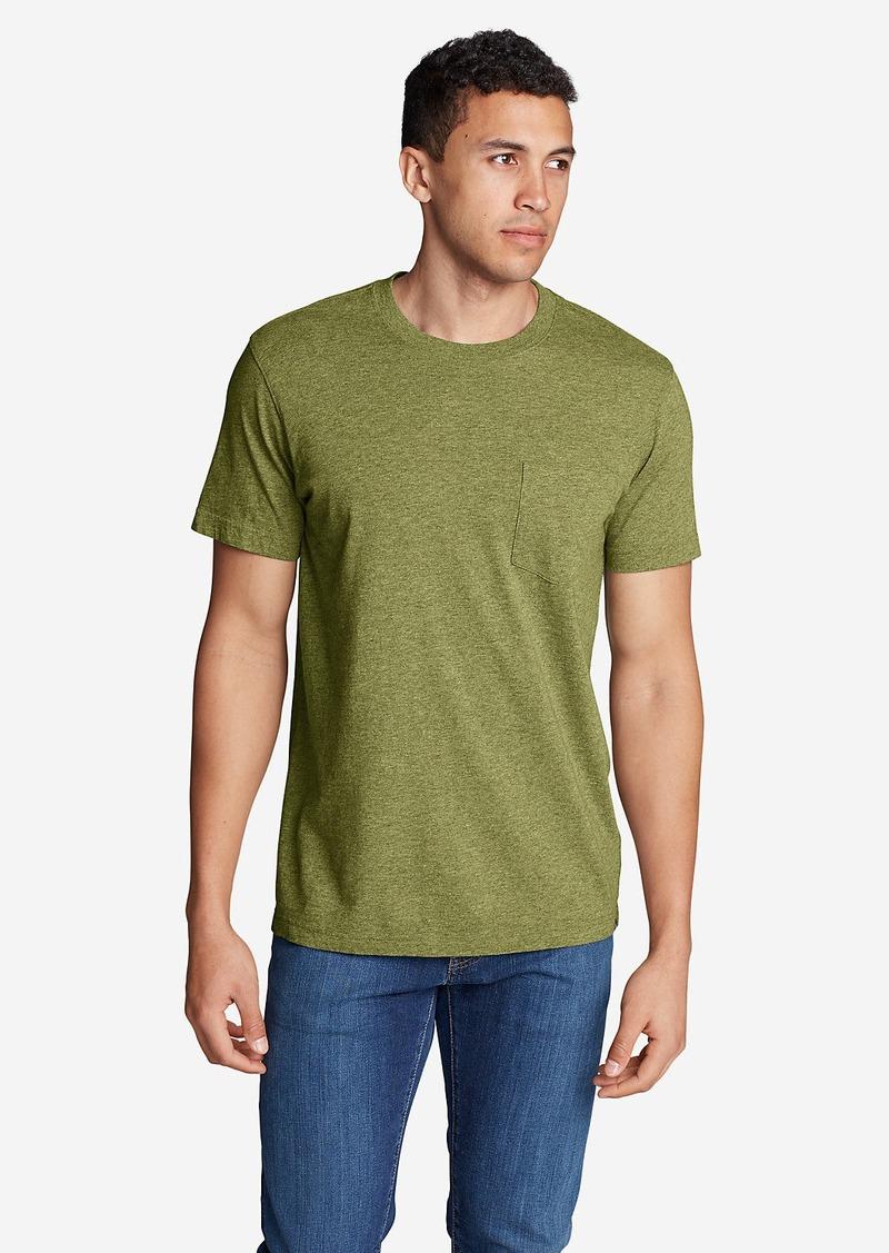 Eddie Bauer Men 39 S Legend Wash Short Sleeve Pocket T Shirt