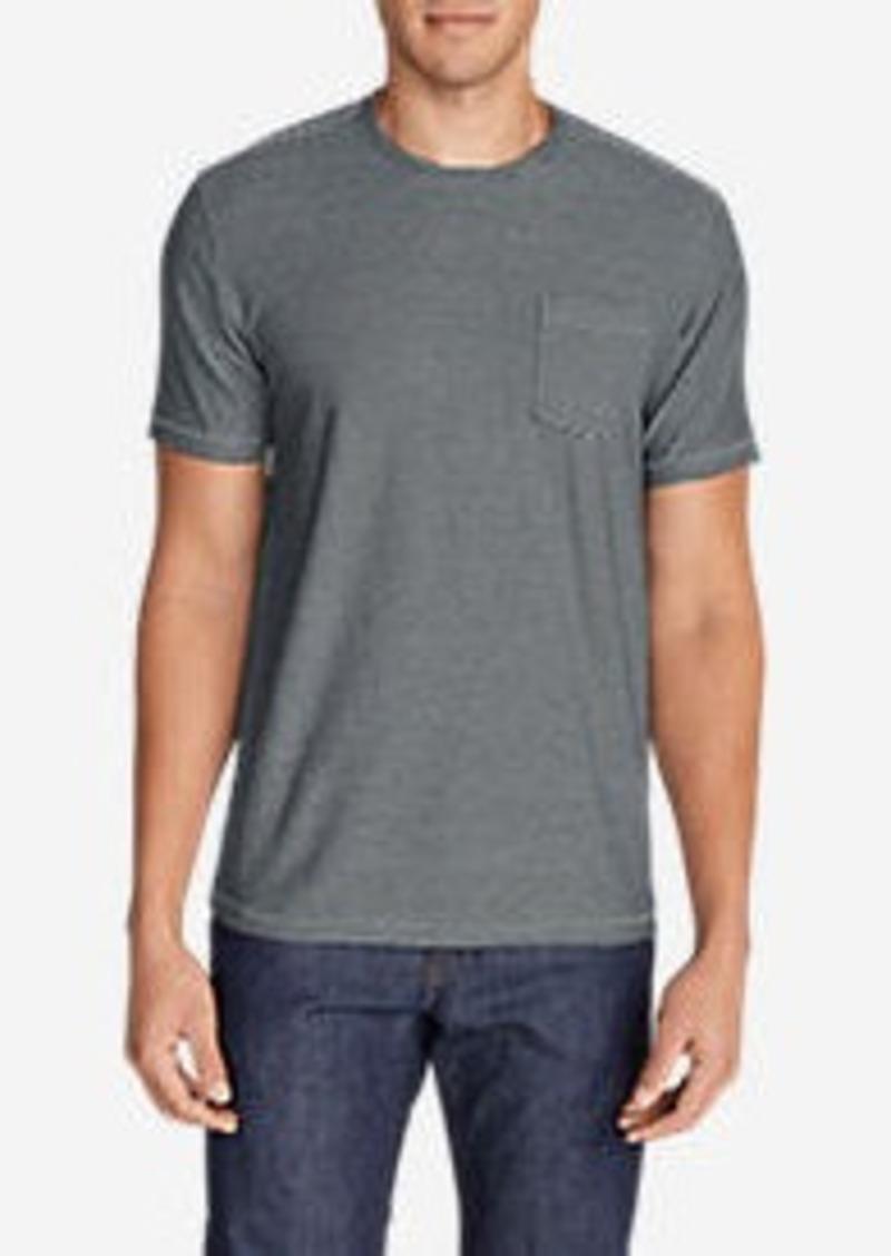 Eddie Bauer Men's Legend Wash Short-Sleeve Pocket T-Shirt - Stripe