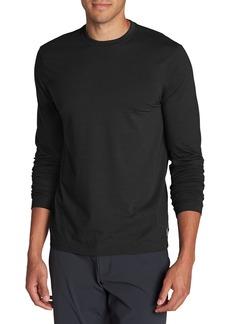 Eddie Bauer Men's Lookout Long-Sleeve T-Shirt - Solid