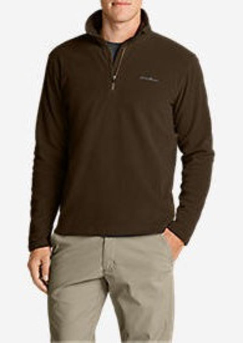 Eddie Bauer Men's Quest 150 Fleece 1/4-Zip Pullover