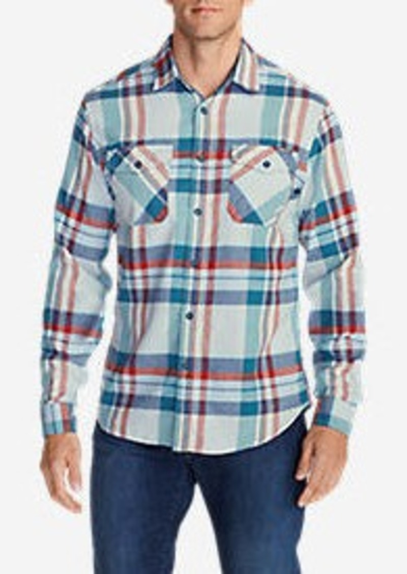 Eddie Bauer Men's Skywriter Long-Sleeve Shirt - Pattern