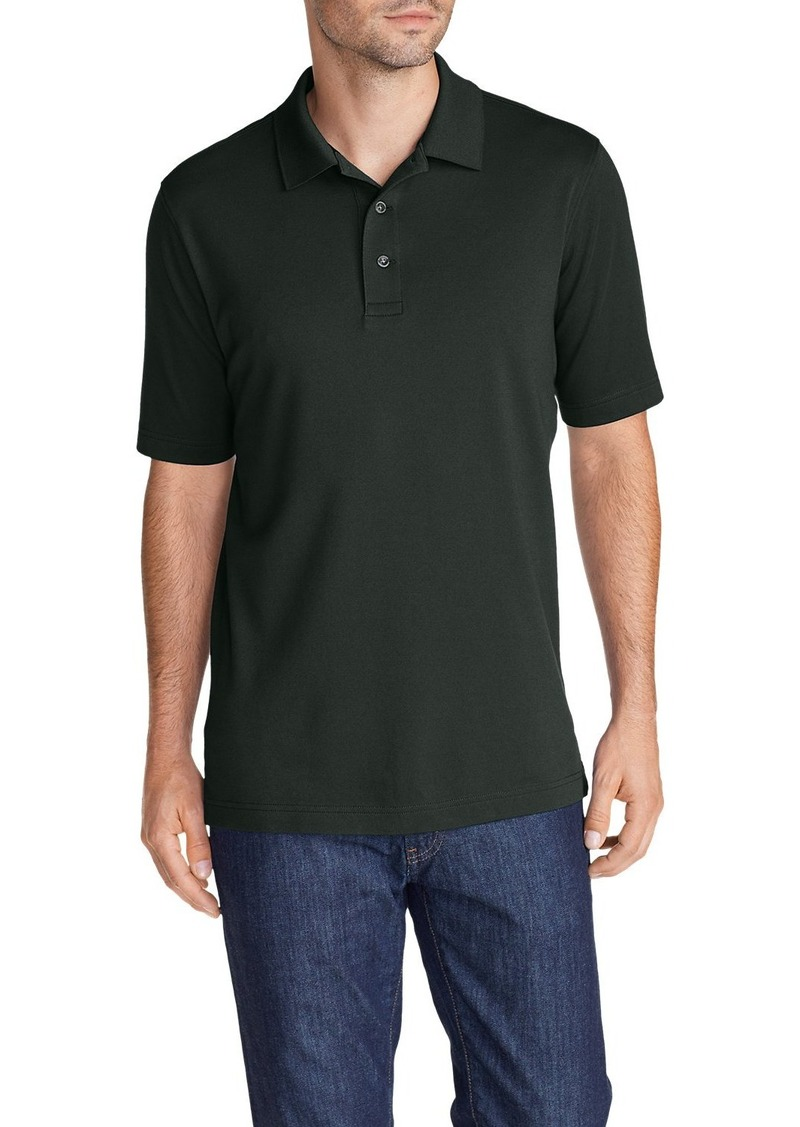 Eddie Bauer Men's Voyager II Performance Short-Sleeve Polo Shirt - Solid
